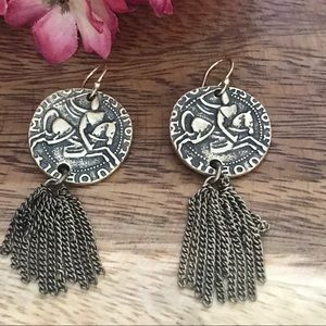 Silpada KR Collection Garden Gate Earrings